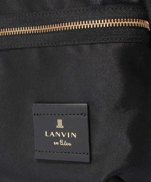 LANVIN en Bleu(BAG)(ランバンオンブルー(バッグ))/LANVIN en Bleu トロカデロ リュックサック/480210_img06