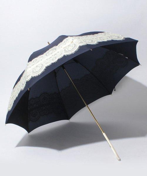 pink trick(ピンクトリック)/【雨晴兼用】レース&リボン長傘(UVカット&軽量) /35062_img01