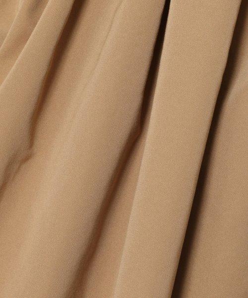 TOMORROWLAND(TOMORROWLAND)/ポリエステルツイル タックギャザースカート/11056405002_img09