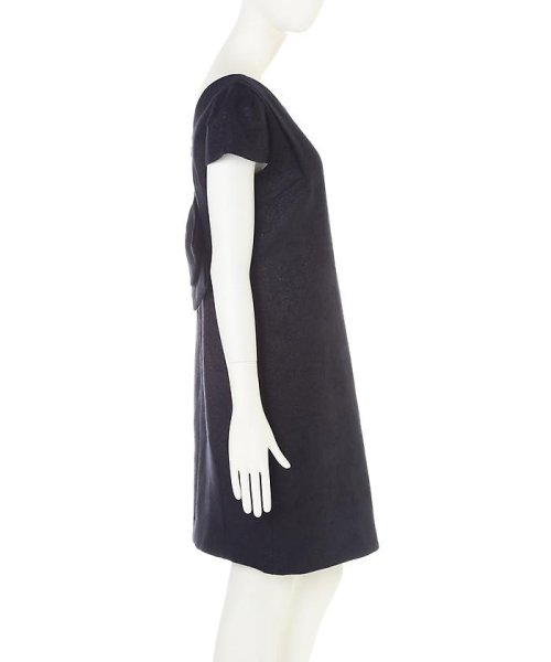 PROPORTION BODY DRESSING(プロポーション ボディドレッシング)/《Lou Lou fee》バックリボンジャガードワンピース/1216240303_img04