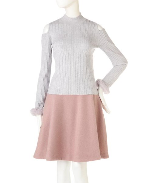 PROPORTION BODY DRESSING(プロポーション ボディドレッシング)/《EDIT COLOGNE》ファーカフスニット/1216275006_img01
