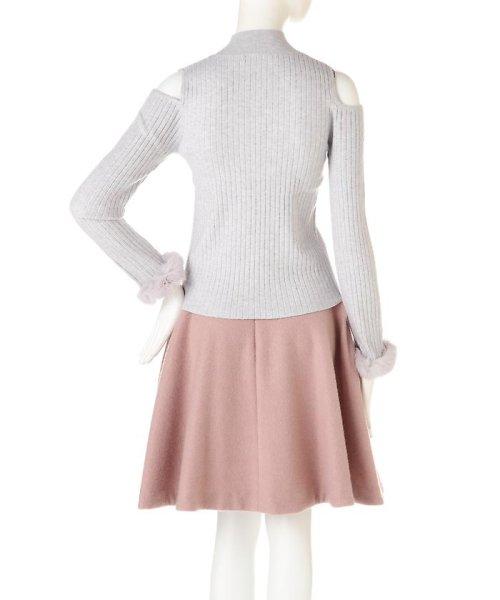 PROPORTION BODY DRESSING(プロポーション ボディドレッシング)/《EDIT COLOGNE》ファーカフスニット/1216275006_img02