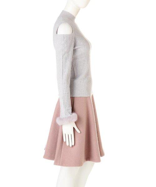 PROPORTION BODY DRESSING(プロポーション ボディドレッシング)/《EDIT COLOGNE》ファーカフスニット/1216275006_img03