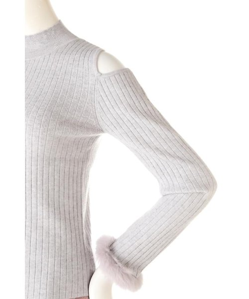 PROPORTION BODY DRESSING(プロポーション ボディドレッシング)/《EDIT COLOGNE》ファーカフスニット/1216275006_img05