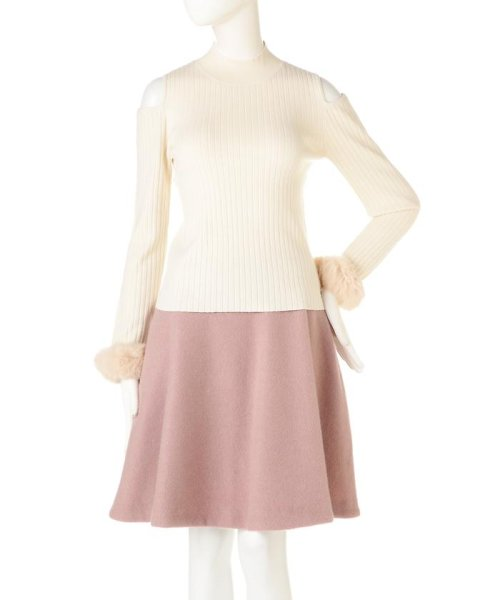 PROPORTION BODY DRESSING(プロポーション ボディドレッシング)/《EDIT COLOGNE》ファーカフスニット/1216275006_img09