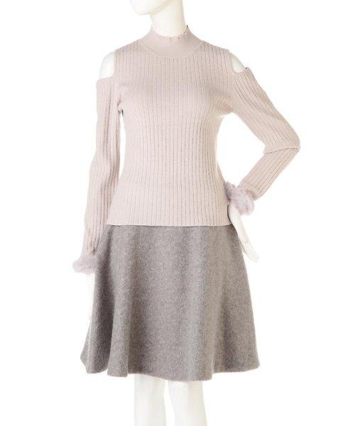 PROPORTION BODY DRESSING(プロポーション ボディドレッシング)/《EDIT COLOGNE》ファーカフスニット/1216275006_img11