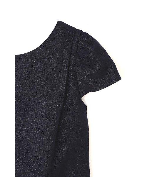 PROPORTION BODY DRESSING(プロポーション ボディドレッシング)/《Lou Lou fee》バックリボンジャガードワンピース/1216240303_img09