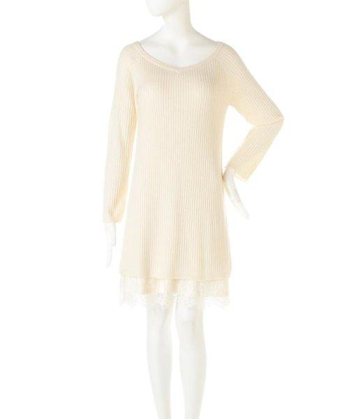 PROPORTION BODY DRESSING(プロポーション ボディドレッシング)/ロングリブレースワンピース/1217140004_img03