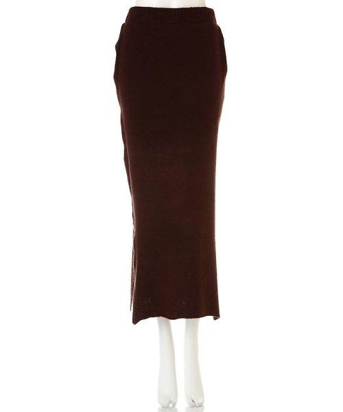 PROPORTION BODY DRESSING(プロポーション ボディドレッシング)/《BLANCHIC》ラーベン柄編みニットスカート/1216229020_img01