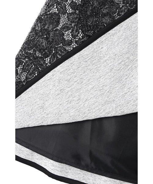 PROPORTION BODY DRESSING(プロポーション ボディドレッシング)/レースボンディングフレアスカート/1217120004_img09