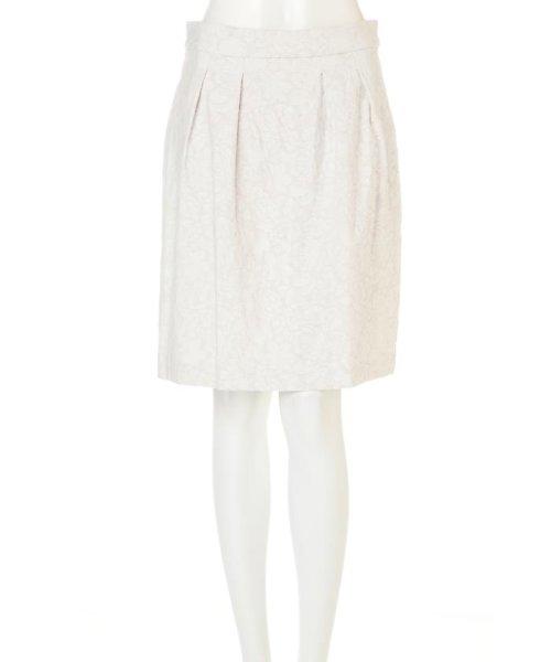 PROPORTION BODY DRESSING(プロポーション ボディドレッシング)/フラワーフルーツジャガードコクーンスカート/1217120202_img01