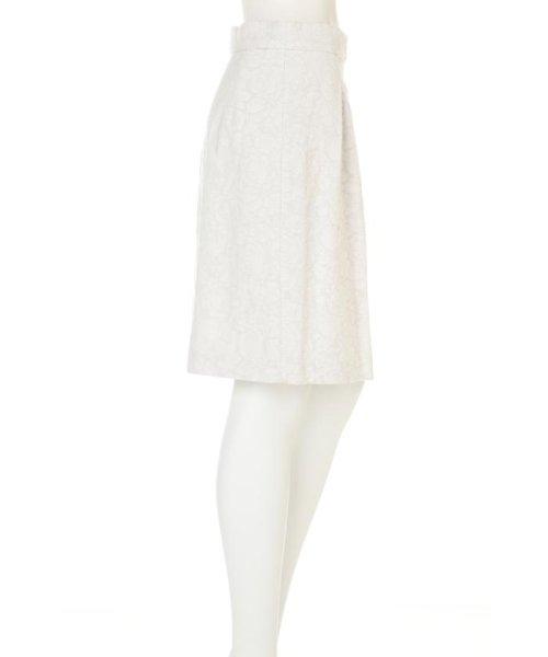 PROPORTION BODY DRESSING(プロポーション ボディドレッシング)/フラワーフルーツジャガードコクーンスカート/1217120202_img02