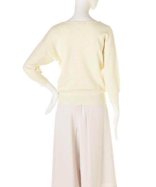 PROPORTION BODY DRESSING(プロポーション ボディドレッシング)/ドルマンVニット8分袖/1217170210_img02