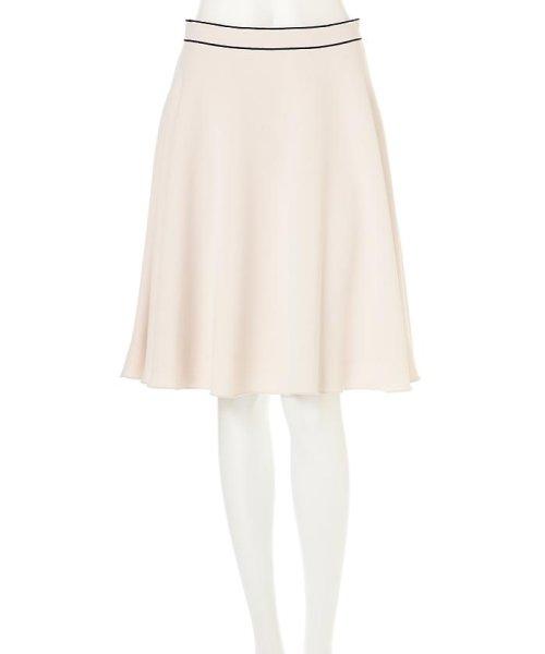 PROPORTION BODY DRESSING(プロポーション ボディドレッシング)/ダブルジョーゼットスカート/1217120101_img01
