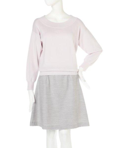 PROPORTION BODY DRESSING(プロポーション ボディドレッシング)/ドルマンニット/1217170100_img07