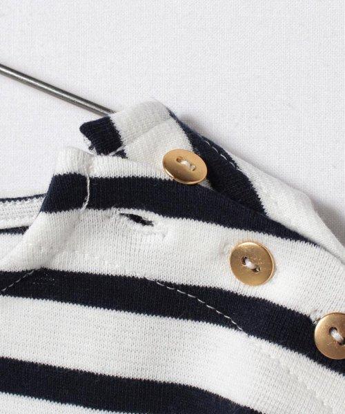 petit main(プティマイン)/ボーダー後ろ裾フリル(長袖)/9672202_img03