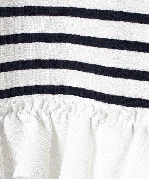 petit main(プティマイン)/ボーダー後ろ裾フリル(長袖)/9672202_img04