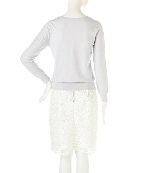 PROPORTION BODY DRESSING(プロポーション ボディドレッシング)/シャイニージュエルVネックニット/1217170101_img08