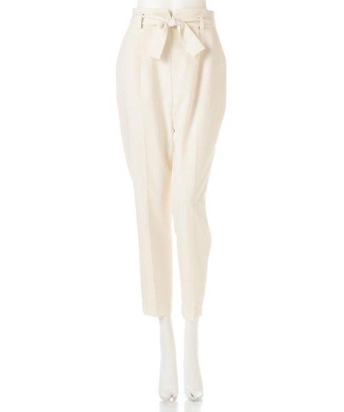 PROPORTION BODY DRESSING(プロポーション ボディドレッシング)/リボンセンタープレスパンツ/1217130102_img01