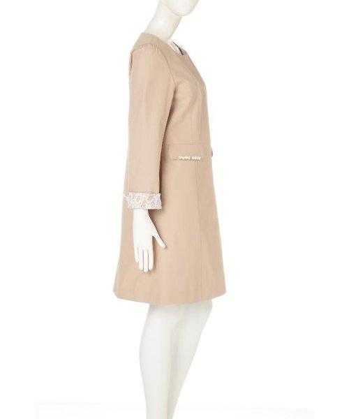 PROPORTION BODY DRESSING(プロポーション ボディドレッシング)/ノーカラートレンチコート/1217152101_img02