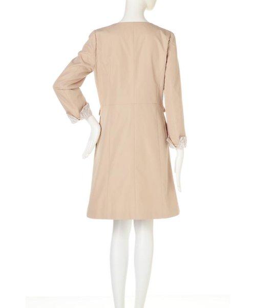 PROPORTION BODY DRESSING(プロポーション ボディドレッシング)/ノーカラートレンチコート/1217152101_img03
