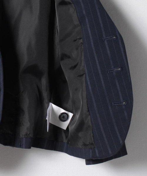 petit main(プティマイン)/ストライプジャケット+ショートパンツセットアップ/9571601_img05