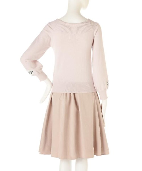PROPORTION BODY DRESSING(プロポーション ボディドレッシング)/《EDIT COLOGNE》フラワーモチーフニット/1217175100_img04