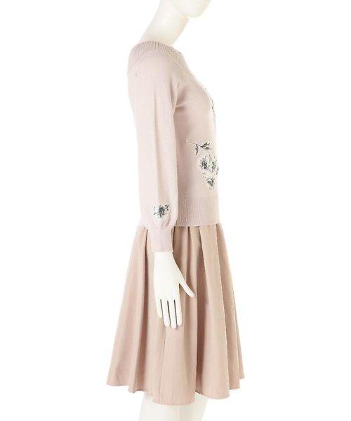 PROPORTION BODY DRESSING(プロポーション ボディドレッシング)/《EDIT COLOGNE》フラワーモチーフニット/1217175100_img05