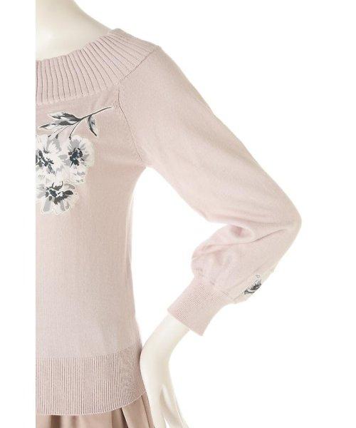 PROPORTION BODY DRESSING(プロポーション ボディドレッシング)/《EDIT COLOGNE》フラワーモチーフニット/1217175100_img08