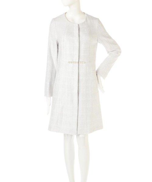 PROPORTION BODY DRESSING(プロポーション ボディドレッシング)/ノーカラーツィードコート/1217152102_img12