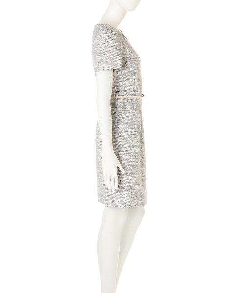 PROPORTION BODY DRESSING(プロポーション ボディドレッシング)/ラメツィードワンピース/1217140102_img03