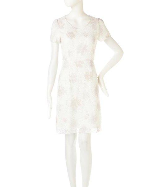 PROPORTION BODY DRESSING(プロポーション ボディドレッシング)/ぼかしフラワーレースワンピース/1217140105_img03