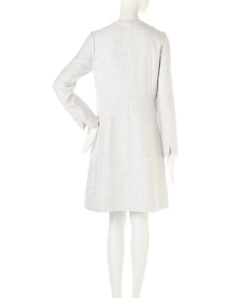 PROPORTION BODY DRESSING(プロポーション ボディドレッシング)/ノーカラーツィードコート/1217152102_img13