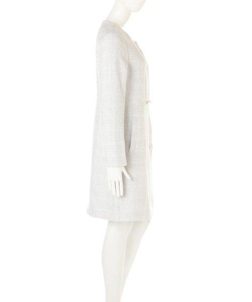 PROPORTION BODY DRESSING(プロポーション ボディドレッシング)/ノーカラーツィードコート/1217152102_img14
