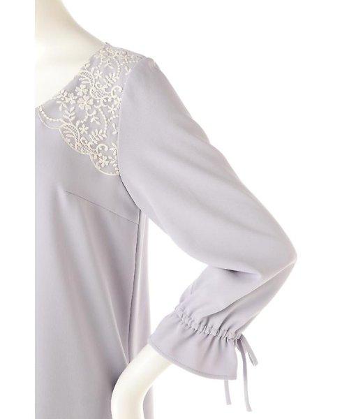 PROPORTION BODY DRESSING(プロポーション ボディドレッシング)/《EDIT COLOGNE》ショルダーエンブロイダリーワンピース/1217147100_img07