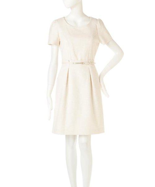 PROPORTION BODY DRESSING(プロポーション ボディドレッシング)/ラメツィードワンピース/1217140102_img11