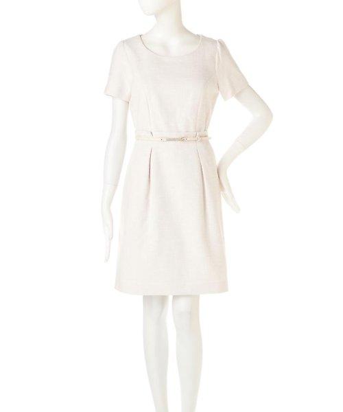 PROPORTION BODY DRESSING(プロポーション ボディドレッシング)/ラメツィードワンピース/1217140102_img13