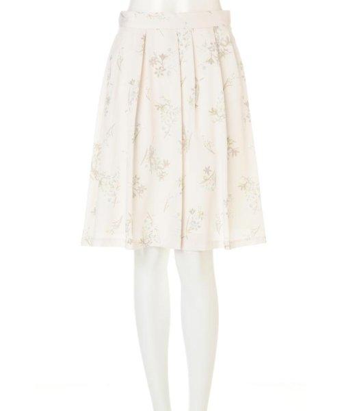PROPORTION BODY DRESSING(プロポーション ボディドレッシング)/フローリッシュボタニカルプリントスカート/1217120009_img01