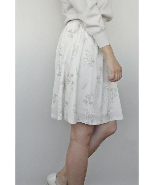 PROPORTION BODY DRESSING(プロポーション ボディドレッシング)/フローリッシュボタニカルプリントスカート/1217120009_img03