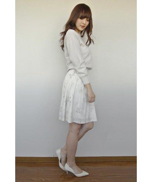 PROPORTION BODY DRESSING(プロポーション ボディドレッシング)/フローリッシュボタニカルプリントスカート/1217120009_img04