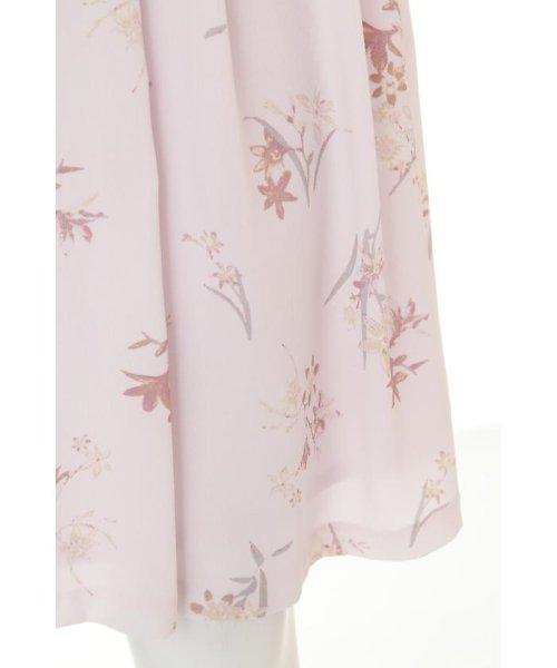 PROPORTION BODY DRESSING(プロポーション ボディドレッシング)/フローリッシュボタニカルプリントスカート/1217120009_img09