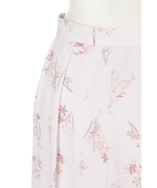 PROPORTION BODY DRESSING(プロポーション ボディドレッシング)/フローリッシュボタニカルプリントスカート/1217120009_img10