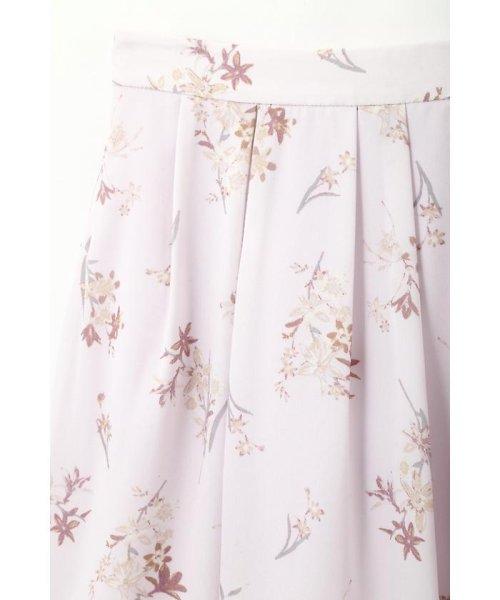 PROPORTION BODY DRESSING(プロポーション ボディドレッシング)/フローリッシュボタニカルプリントスカート/1217120009_img11
