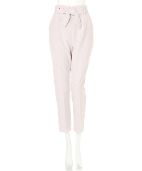 PROPORTION BODY DRESSING(プロポーション ボディドレッシング)/リボンセンタープレスパンツ/1217130102_img03