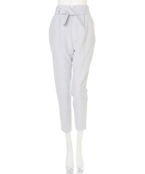 PROPORTION BODY DRESSING(プロポーション ボディドレッシング)/リボンセンタープレスパンツ/1217130102_img05