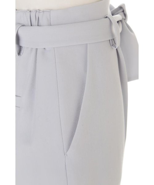 PROPORTION BODY DRESSING(プロポーション ボディドレッシング)/リボンセンタープレスパンツ/1217130102_img09