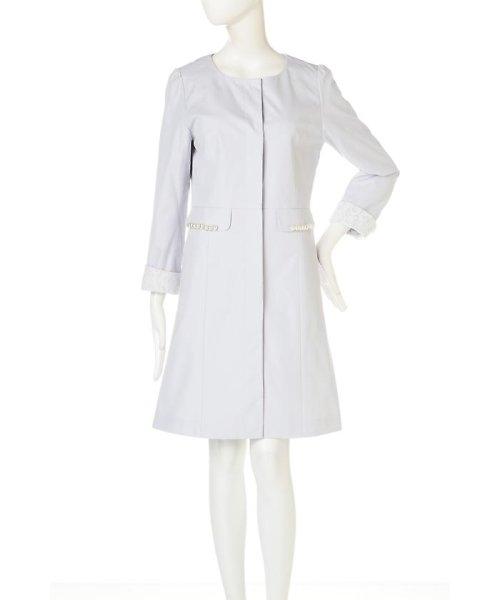 PROPORTION BODY DRESSING(プロポーション ボディドレッシング)/ノーカラートレンチコート/1217152101_img15