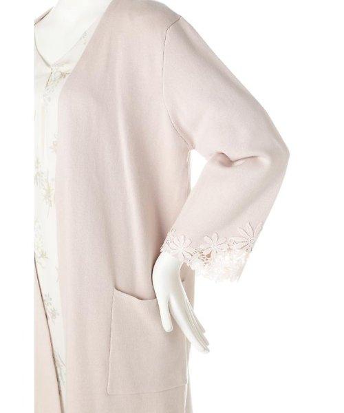 PROPORTION BODY DRESSING(プロポーション ボディドレッシング)/サイドレースコーディガン/1217174200_img08