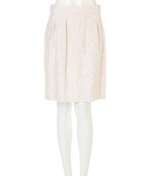 PROPORTION BODY DRESSING(プロポーション ボディドレッシング)/フラワーフルーツジャガードコクーンスカート/1217120202_img09