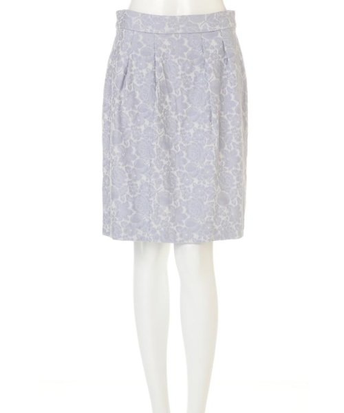 PROPORTION BODY DRESSING(プロポーション ボディドレッシング)/フラワーフルーツジャガードコクーンスカート/1217120202_img11
